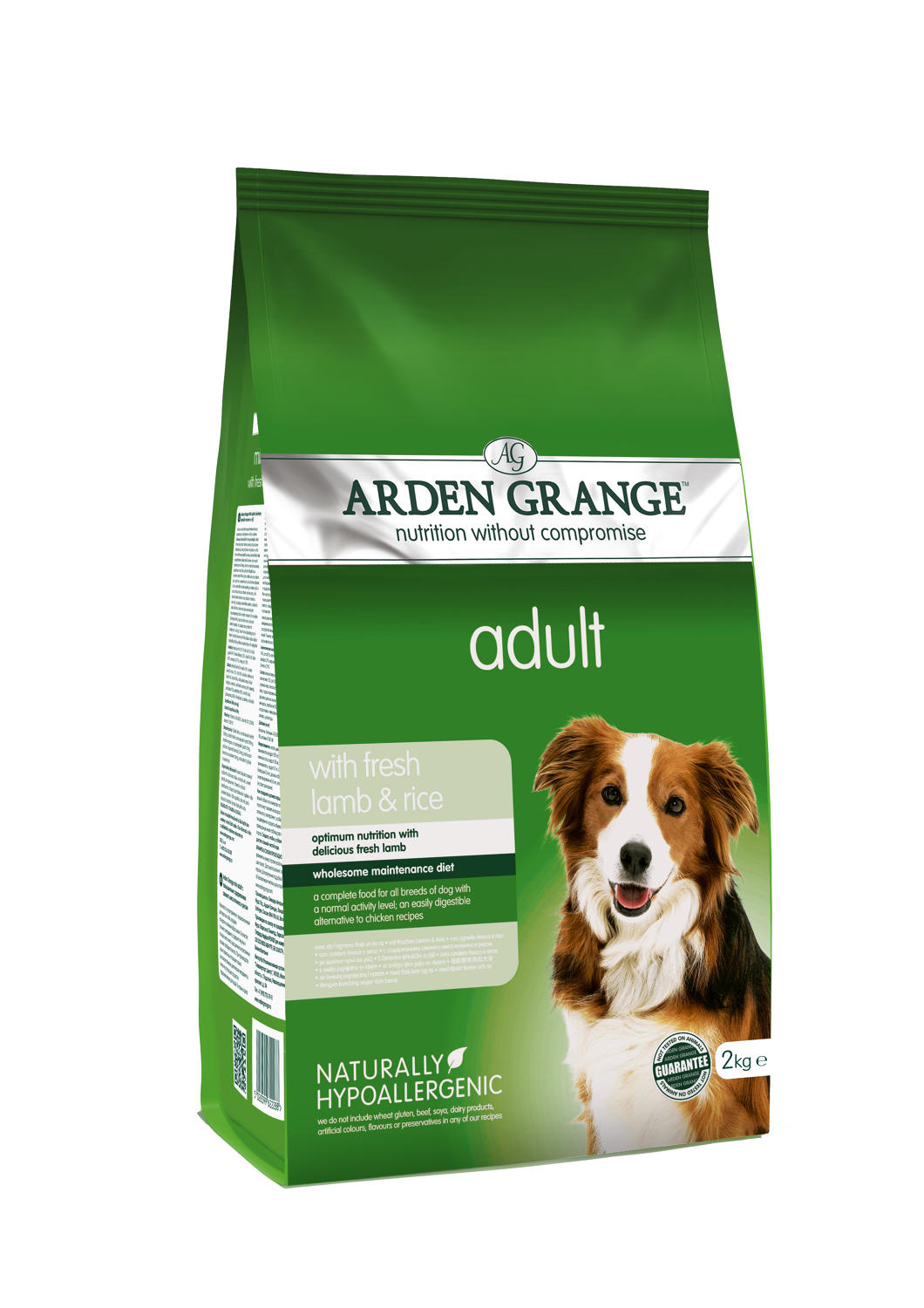 Arden Grange Adult Lamb & Rice 2kg