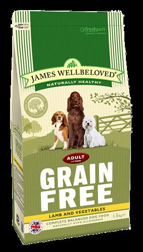 James Wellbeloved Adult Lamb & Veg 10kg