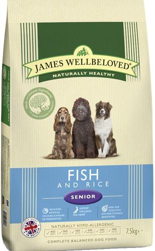 James Wellbeloved Senior Fish & Rice 15kg