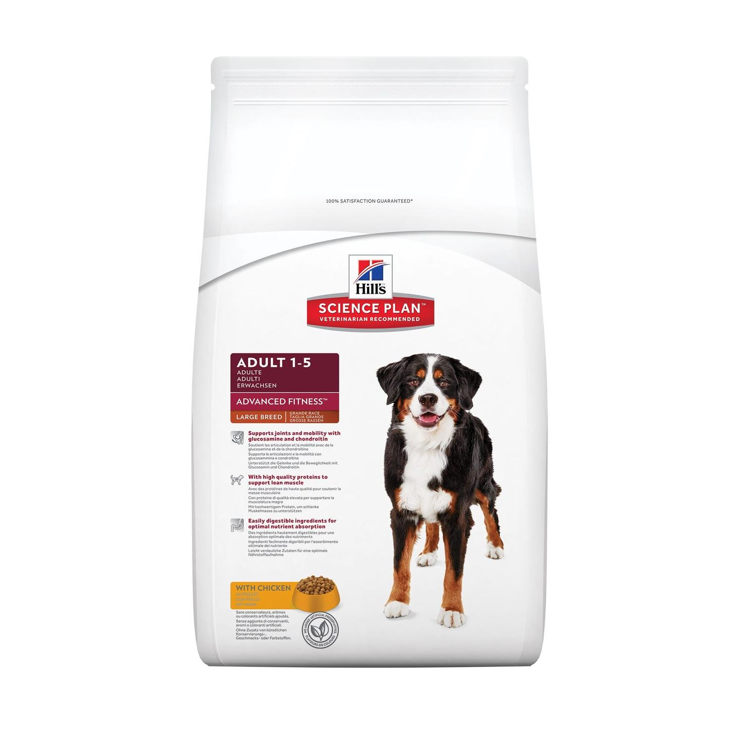 Hill's Science Plan Advanced Fitness Large Breed Chicken 12kg
